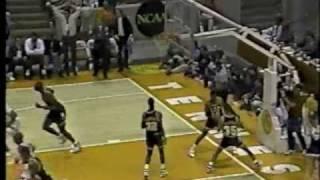 Georgia Tech - LSU 1990 Basketball - Dennis Scott 3-Pointer