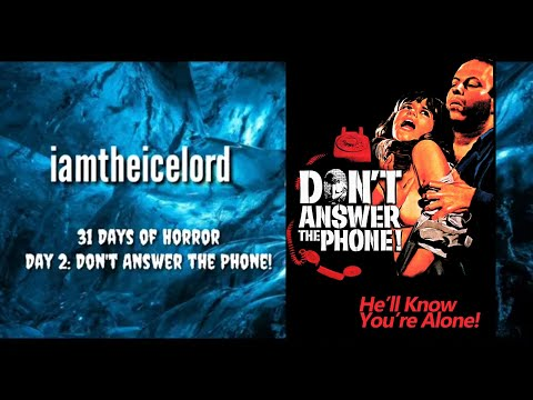 Don't Answer the Phone! (1980) • Day 2 / 31 Days of Horror 2019