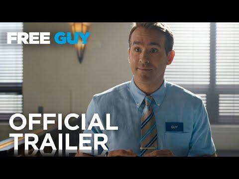 إعلان فيلم Free Guy لريان رينولدز