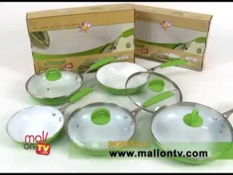 Biolux 3 Sartenes | Mall On TV | Utensilios de cocina