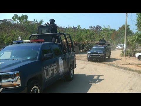 Drogenkrieg am Stadtrand des Urlaubsparadieses Acapul ...