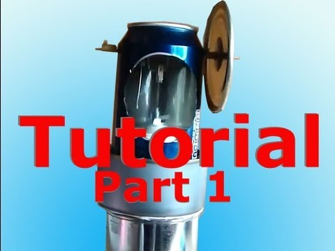 Stirling Engine Tutorial / Plans How To Part 1 of 2 (beta)