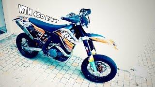 8. PRESENTATION de ma KTM 450 EXC  & EQUIPEMENTS