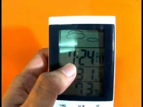 เครื่องวัดความชื้นดิจิตอล