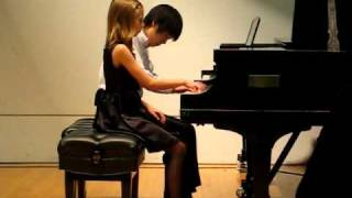 The Arrival of Queen of Sheba Duet for Piano
