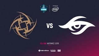 Nip vs Team Secret, ESL One Katowice 2019, bo2, game 1, [GodHunt]