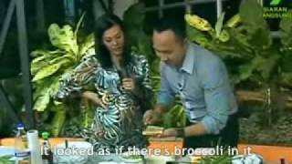 TV Cooking Demo By Norman Musa - English Subtitled