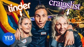 Video Throwing a Party for Strangers from the Internet!! (Craigslist,Tinder and Bumble) MP3, 3GP, MP4, WEBM, AVI, FLV Juni 2018