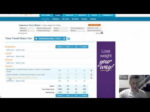 Coach Todd – How To Use Myfitnesspal With P90X Nutrition Plan