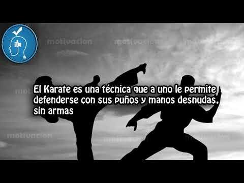 10 Frases celebres sobre el karate