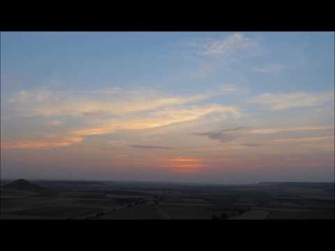 Timelapse de nubes desde el Paseo del Norte. La Guardia (Toledo) 15-8-2017