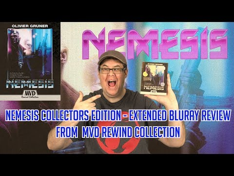 Nemesis – Directors Cut | Extended Bluray Review (MVD Rewind Collection)
