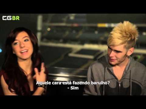 Blooper Reel - American Idol Live Tour 2012 - Christina Grimmie (Legendado)