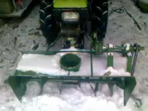 Как сделать из культиватора снегоуборщик своими руками