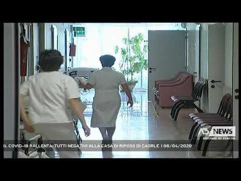 IL COVID-19 RALLENTA, TUTTI NEGATIVI ALLA CASA DI RIPOSO DI CAORLE  | 06/04/2020