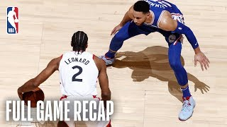 76ERS vs RAPTORS | Sixers Hold Off Comeback | Game 2