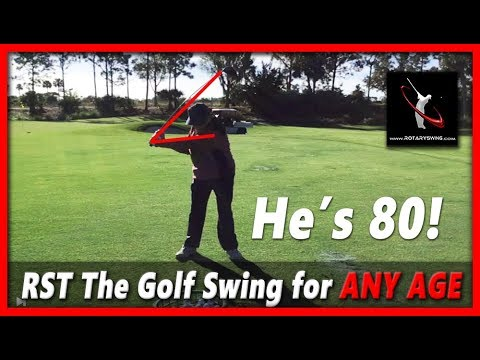 THE Golf Swing for the Older Man - 80 Year Old Golfer - RoadShow Lesson 11