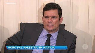 Ministro da Justiça visita Marília e faz palestra em universidade