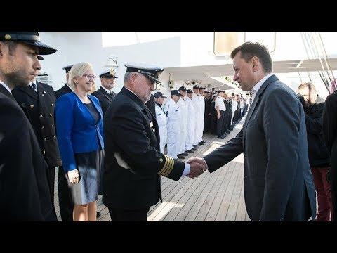 To niezwykły rejs Daru Młodzieży - wypowiedź ministra M. Błaszczaka