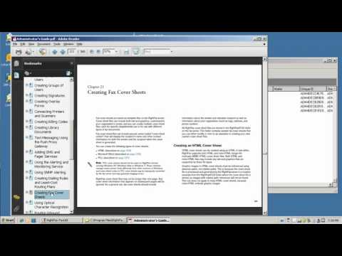How to Customize RightFax Coversheets