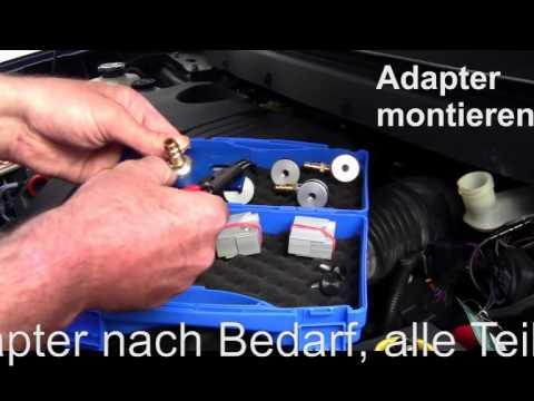 Bremsenentlüftungsgerät Adapter MCV Manotec