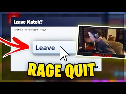 Crazy Man Has Insane Freak Out Over Fortnite! (rage Quit!)