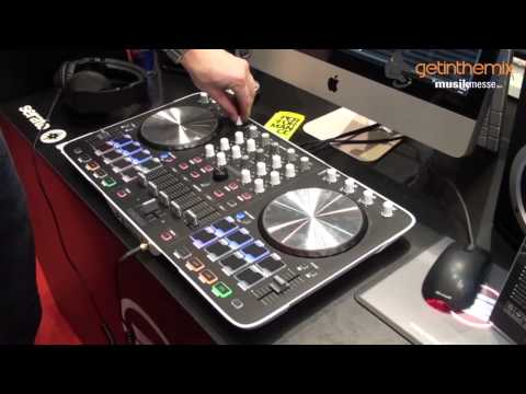 ReLoop Beatmix 4 – 4 Channel DJ Controller Mixer at MusikMesse 2014