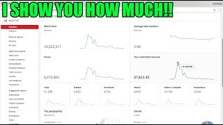 Video This is EXACTLY how much Youtube paid me for a 10 MILLION + views VIRAL VIDEO! MP3, 3GP, MP4, WEBM, AVI, FLV Mei 2018