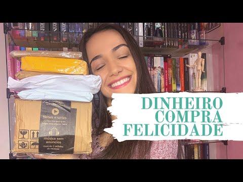 UNBOXING #3 - O DINHEIRO COMPRA FELICIDADE | Os Livros Livram