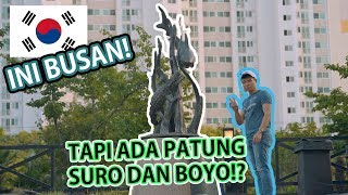 Video AKU NEMU PATUNG SURO DAN BOYO DI BUSAN!!! MP3, 3GP, MP4, WEBM, AVI, FLV November 2018