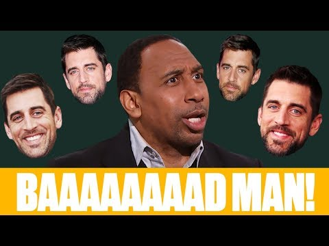 Video: The best of Stephen A.'s Aaron Rodgers rants: 'He's a baaaad man!' | First Take