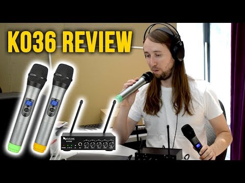 Fifine K036 Wireless Mic System Review