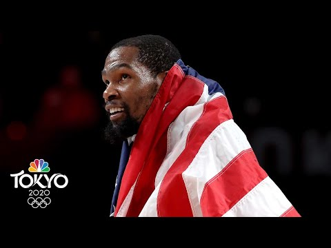 USA survives France, delivers FOURTH straight men's basketball gold   Tokyo Olympics   NBC Sports