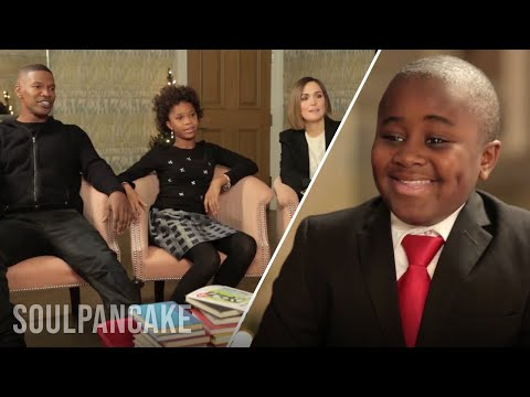 cast - Kid President sat down with the cast of the upcoming ANNIE movie for a special edition of his book club! He asked his new friends Cameron Diaz, Quvenzhane Wallis, Jamie Foxx, Rose Byrne and...