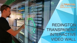 Interactive Transparent Video Wall - Redington
