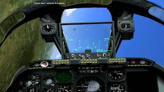Multiplay LOMAC FC2 two A10s vs MIG29
