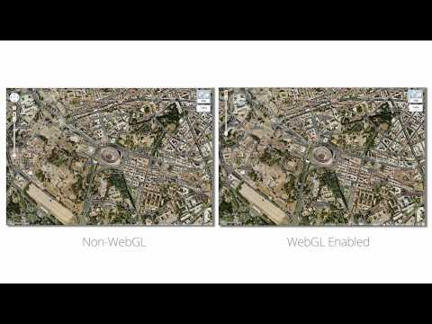 Google Demos Impressive 3D MapsGL, Based on WebGL Technology