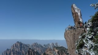 A winter trip to the beautiful HuangShan 黄山 mountain