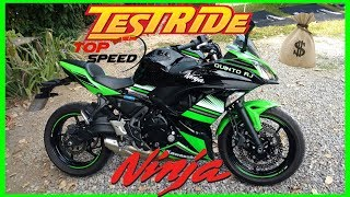 7. Kawasaki Ninja 650 (2018) - Test Ride+Top Speed/Valores/Ficha Técnica