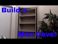 How to build a secret man cave door. Murphy door. DIY finish carpentry.