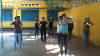 Tập huấn nhảy Dân vũ Chicken Dance Bình Phước