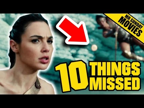 Easter Eggs and References in the New Wonder Woman