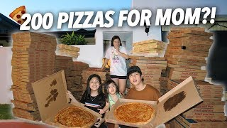 Video 200 Boxes of Pizzas For Mom?! (She Freaked Out) | Ranz and Niana MP3, 3GP, MP4, WEBM, AVI, FLV Oktober 2018