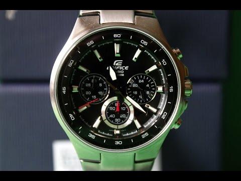 EDIFICE EF-562D-1A | Обзор (на русском) | Купить со скидкой (видео)