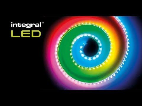 Integral LED Digital Pixel RGB Strip - 15 vibrant light patterns