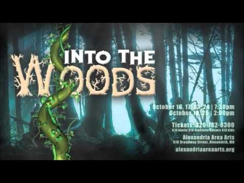Into the Woods on sale now!  320-762-8300!