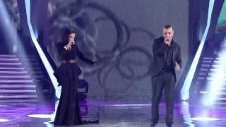 XHEJSI JORGAQI&ÇARTANI - VETEM KUJTOHU ( Kenga Magjike 2013 - Nata e pare Gjysem Finale )