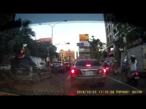 高雄市前鎮區班超路碰撞