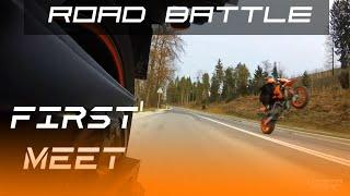 9. Road Battle 1 - First Meet FZ6 & KTM 950 SM