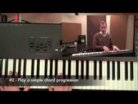 Worship Keyboard Tutorial: Playing In The Background